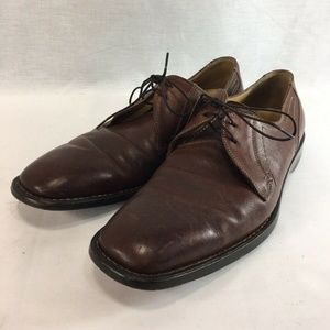 Cole Haan Shoes Oxfords Mens 9 M Brown Leather